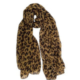 2017 New Fashion Lady Korean Style Leopard Printed Long Scarf