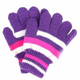 Kids Magic Stretchy Mittens Knitted Gloves Winter Warmer Gloves