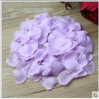 Beauty Emily 2000pcs / lot 5*5cm rose petals for Wedding Decoration, Romantic Artificial Rose Petals Wedding Flower Rose Flower