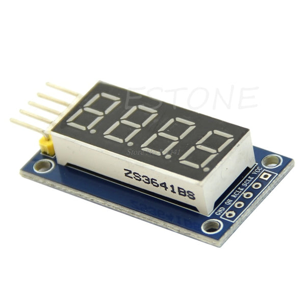 4 Bits Digital Tube LED Display Module Four Serial for 595 Driver