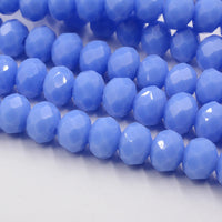 FLTMRH   Shining Purple Color 3*4mm 145pcs Rondelle Austria faceted Crystal Glass Beads Loose Spacer Beads for Jewelry Making