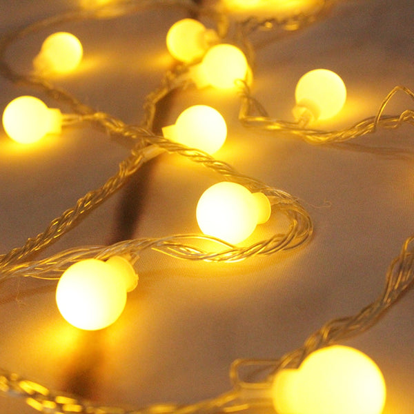 Christmas Led Fairy Light Battery Operated AA Powered Led String Lights Ball Outdoor Waterproof Holiday Lighting for Garden Xmas
