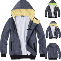 Fashion Hoodies Men Sweatshirts Hoodie Casual Coat Hiphop Jogger Sporting Workouts Tracksuit Hooded Outwear Hombre Autumn Winter