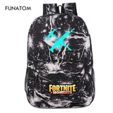 Hot Sale Cool Night Luminous Backpack School Bags for Boys and Girls Schoolbags for Teenagers Printing School Bagpack Satchel