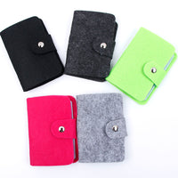 1Pcs Popular Women Fancy Pouch ID Credit Card Wallet Holder Organizer Case Pocket Card Holder Storage Bags