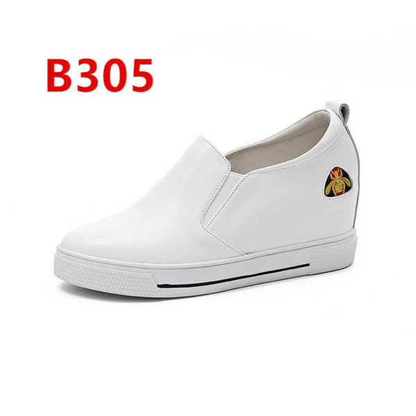 2018 Spring New Pattern Small White Shoes Student Canvas Woman Korean Leisure Time Letter Black Shoe