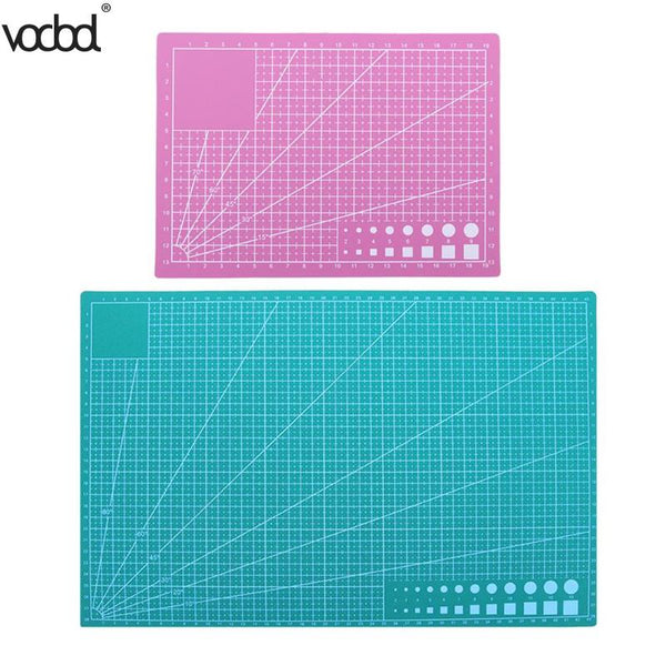 A3 A5 PVC Cutting Mat DIY Craft Patchwork Cut Pad DIY Tool Self-healing Leather Paper Cutting Board School Office Supplies