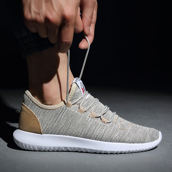 Men Sport Shoes 2018 Fashion Sneakers Men Shoes Plus Size Light Mesh Comfortable Men Running Shoes Male Shoes Adult Sneakers Men