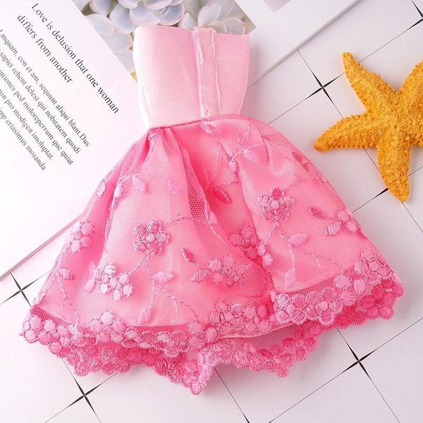 11 Inch High 30cm Doll Pink Butterfly Dress