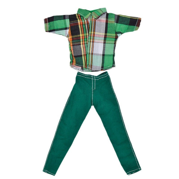 Doll Accessories Male Doll Men Fashion Suit Shirt Jeans Casual Pants