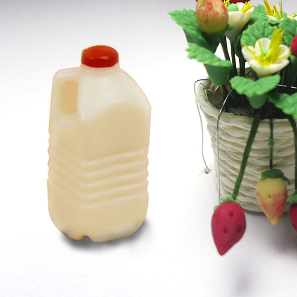 Dollhouse Miniature Mini Milk Bottle