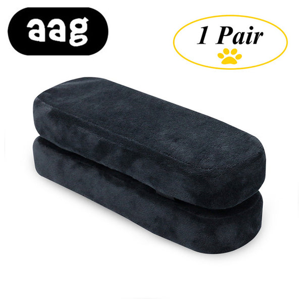 AAG chair Armrest Pads Memory Foam Elbow Pillow Support arm rest covers for office chair Armrest Chair Cushion Pads Elbow Relief