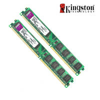 Original Kingston 2GB RAM DDR2 4GB =2pcs*2G PC2-6400S DDR2 800MHZ 2GB PC2-5300S 667MHZ Desktop