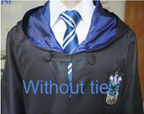 Robe Gryffindor Slytherin Ravenclaw Hufflepuff Cosplay Costumes Kids Adult Cape Halloween Gift