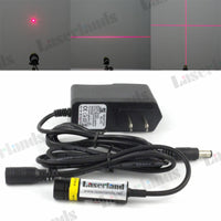 14.5*48mm 650nm Red 5mW 50mW 100mW 200mW Dot Line Cross Focusable 660nm Laser Diode Module adapter