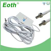 Eoth 3G 4G LTE Antenna CRC9 Connector 4G LTE Router Anetnna 3G external antenna with 2m cable for Huawei 3G 4G LTE Router Modem