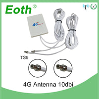 4g LTE Pannel Antenna TS9 Connector 3G 4G Router Anetnna with 2m cable for Huawei 3G 4G LTE Router Modem Aerial