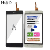 HelloWZXD 5.0'' Touch Screen Glass For Oukitel K4000 Pro  Front Glass Digitizer Panel Lens Sensor Flex Cable Tools Adhesive Gift