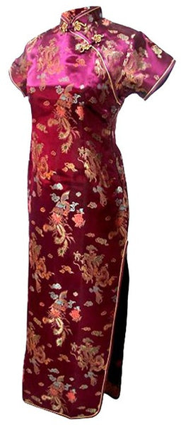 Shanghai Story Womens Long Cheongsam Traditional Chinese Dress Plus Size  S---6XL Women s 7e03c8ef7155