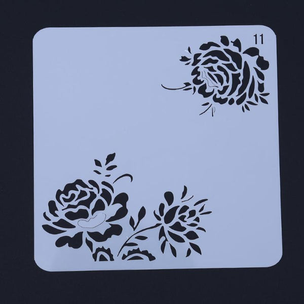 Chrysanthemum Template Layering Stencils for DIY Scrapbooking/photo album Decorative Embossing DIY Paper Cards Crafts