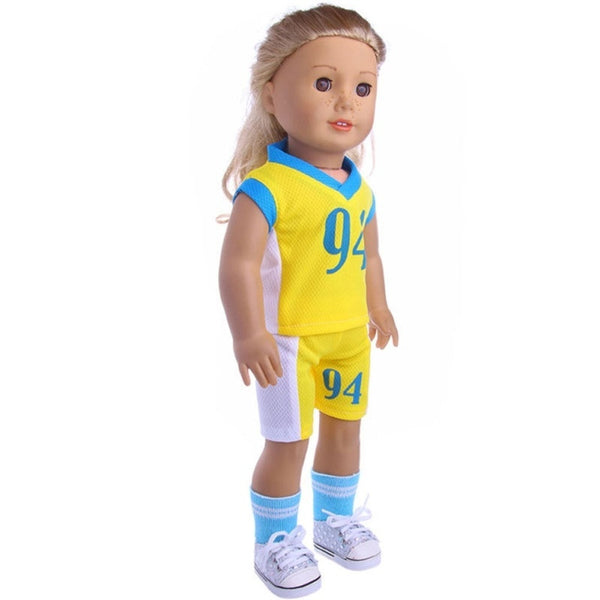 18 Inch American Girl Doll Clothes and Logan Male Doll Clothes 94 Ball Suit