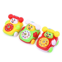 1pc Baby Toys Music Cartoon Phone Educational Developmental Kids Toy Gift