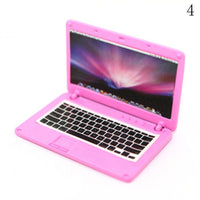 1/12 Scale Dollhouse Miniature Dollhouse Accessories Mini Laptop