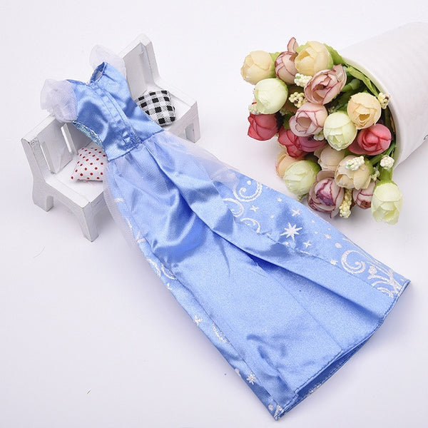 Doll Dresses Outfits Party Clothes Gown Doll Accessories