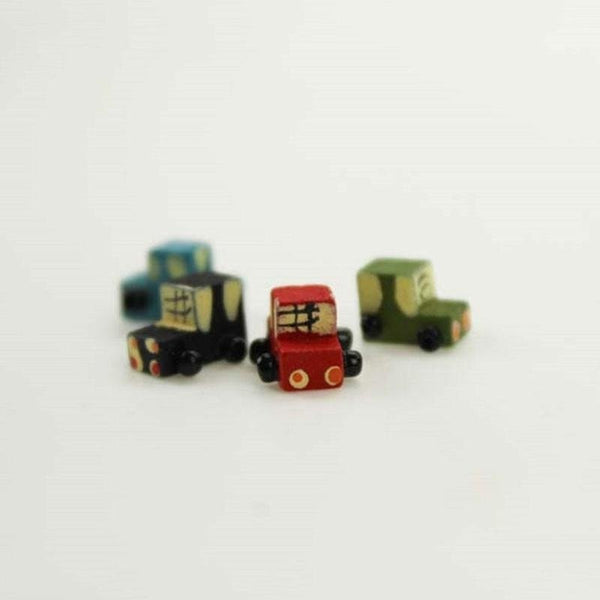 1 Pcs Cute Mini Car Home Decoration/gift/crafts/fairy Garden/terrarium/doll House