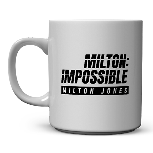Milton Jones Mug | Comedy mug