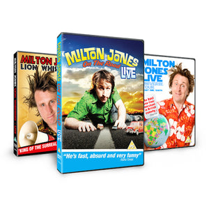 Milton Jones DVD's
