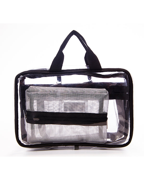 KATKIT ROAD clear makeup bag