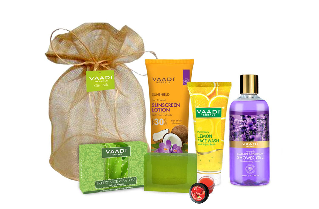 All Purpose Complete Skin Care Travel Kit (555 gms)