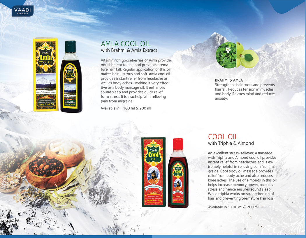 Amla Cool Oil with Brahmi & Amla Extract (200 ml)