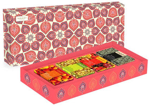 Classic Fruit Collection - 4 Premium Herbal Handmade Soap Gift Box (75 gms x 4)