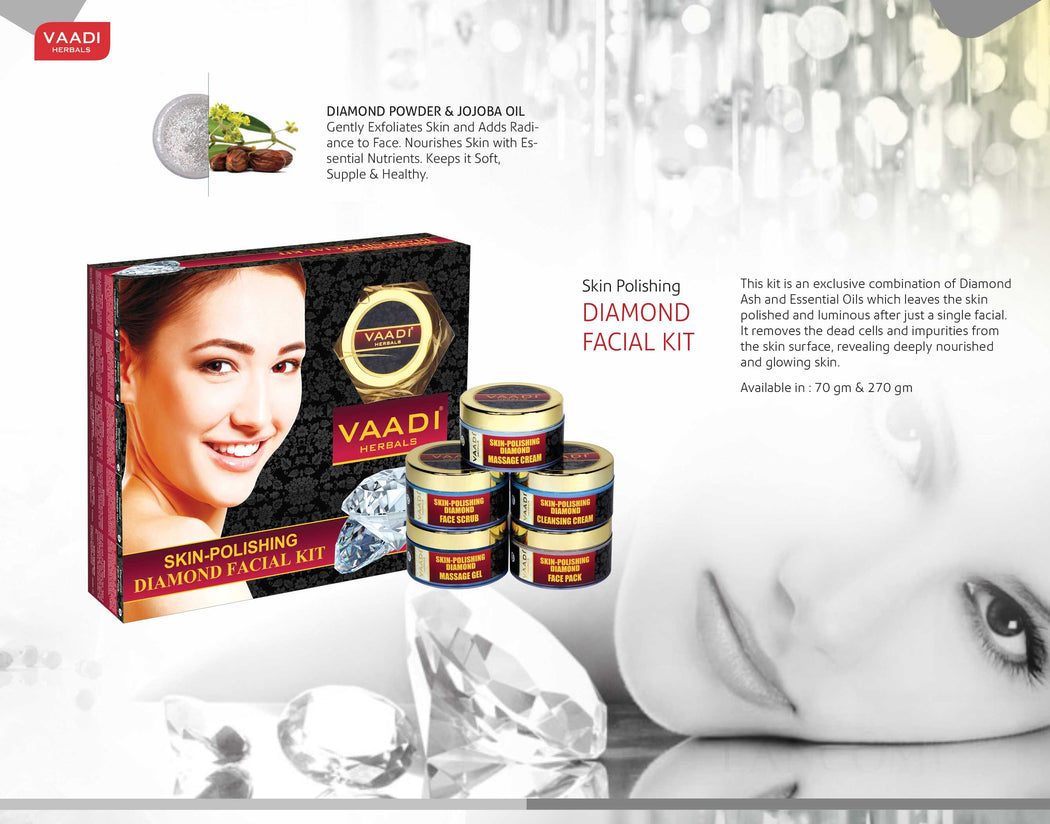 Skin-Polishing Diamond Facial Kit (70 gms)