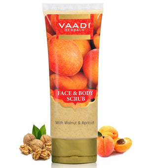 Face & Body Scrub with Walnut & Apricot (110 gms)