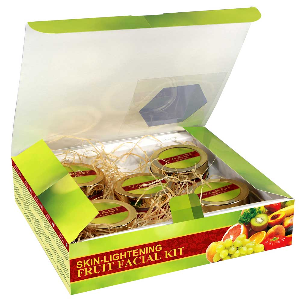 Skin-Lightening Fruit Facial Kit (270 gms)