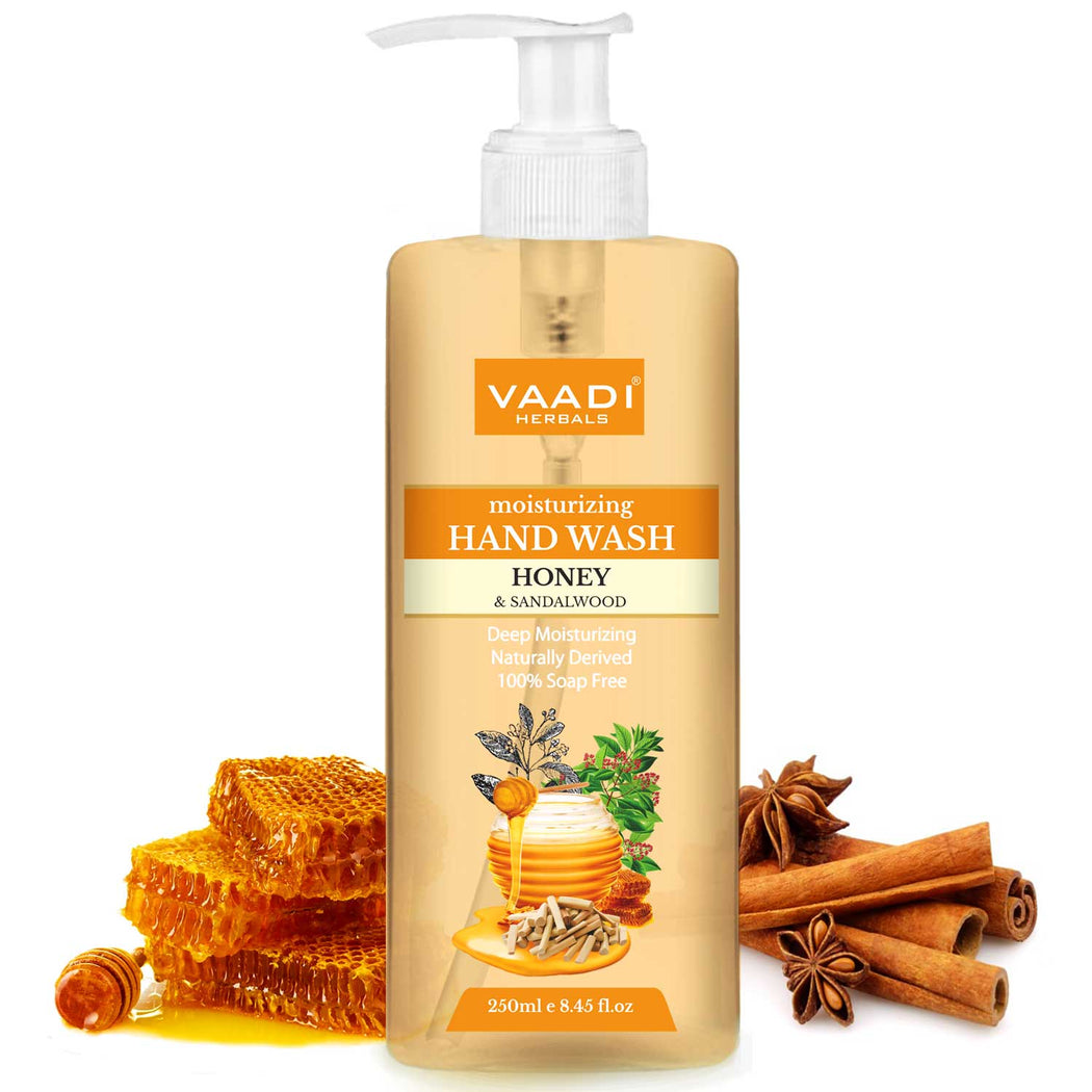 Deep Moisturizing Honey & Sandal Hand Wash (250 ml)