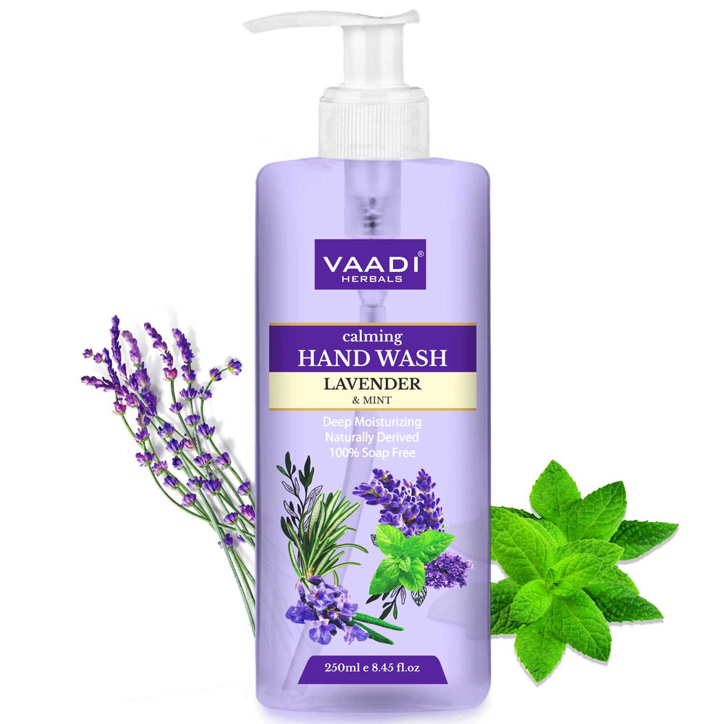 Calming Lavender & Mint Hand Wash - Deep Moisutirizing (250 ml)
