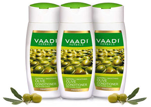 Pack of 3 Olive Conditioner With Avocado Extract (110 ml x 3)