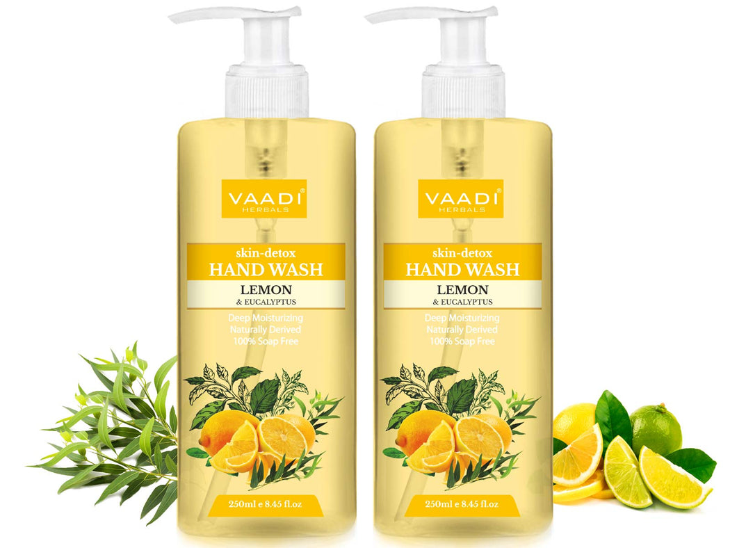Pack of 2 Skin-Detox Lemon & Eucalyptus Hand Wash (250 ml x 2)