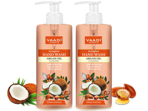 Pack of 2 Instaglow Argan Oil & Coconut Hand Wash (250 ml x 2)