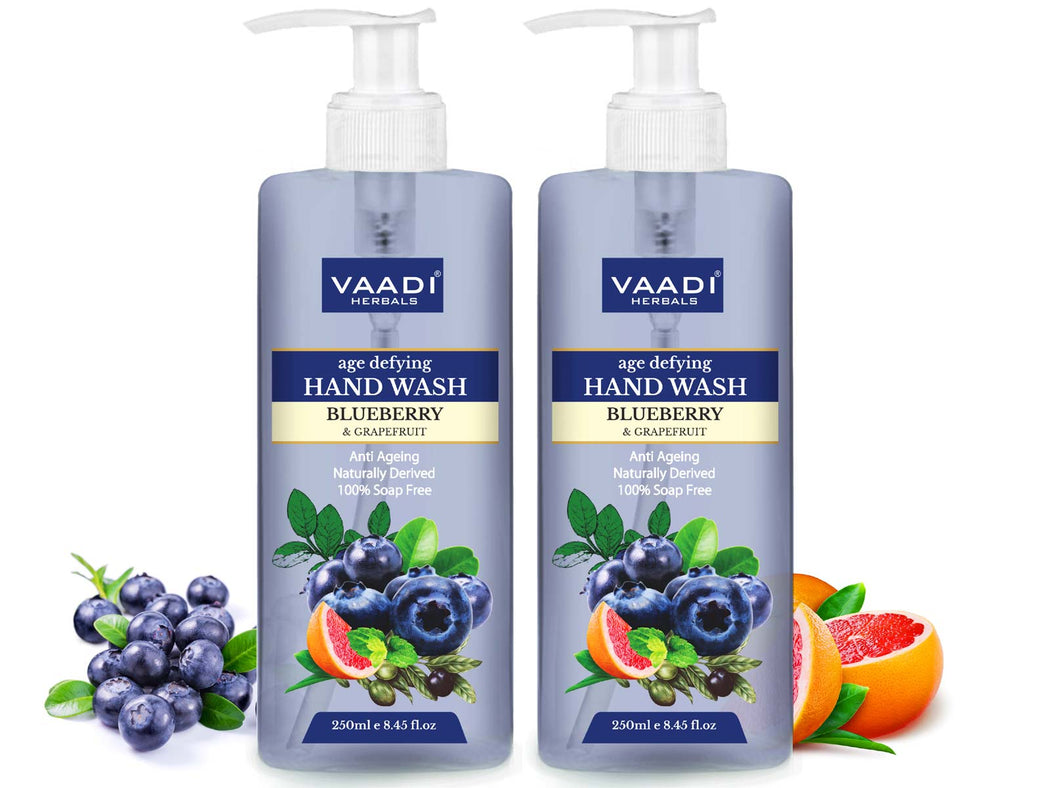 Pack of 2 Age Defying Blueberry & Grapefruit Hand Wash (250 ml x 2)