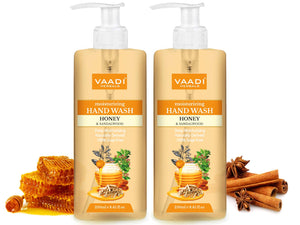 Pack of 2 Deep Moisturizing Honey & Sandal Hand Wash (250 ml x 2)