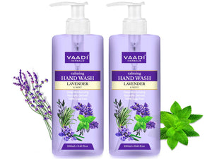 Pack of 2 Calming Lavender & Mint Hand Wash - Deep Moisutirizing (250 ml x 2)