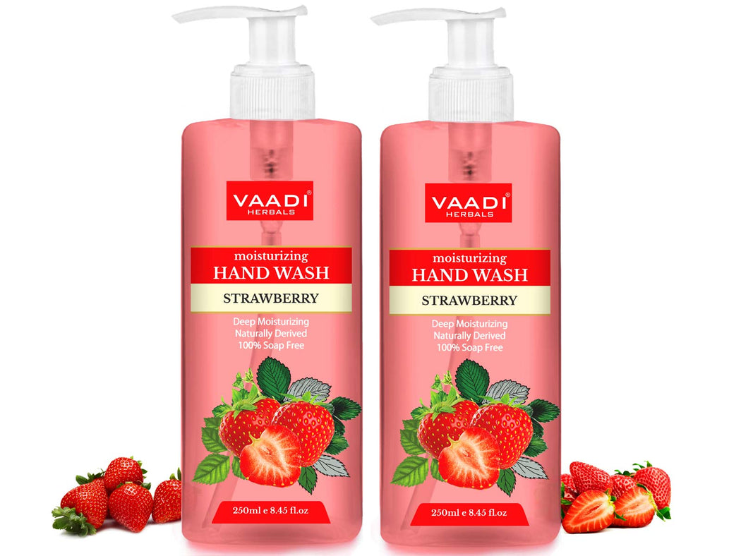 Pack of 2 Deep Moisturizing Strawberry Hand Wash (250 ml x 2)