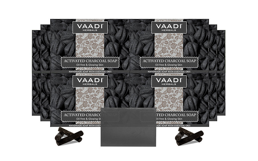 Pack of 12 Activated Charcoal Soap (12 X 75 gms)