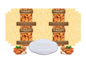 Pack of 12 Lavish Almond Soap (75 gms x 12)