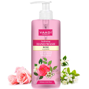Hydrating Rose & Jasmine Hand Wash (250 ml)